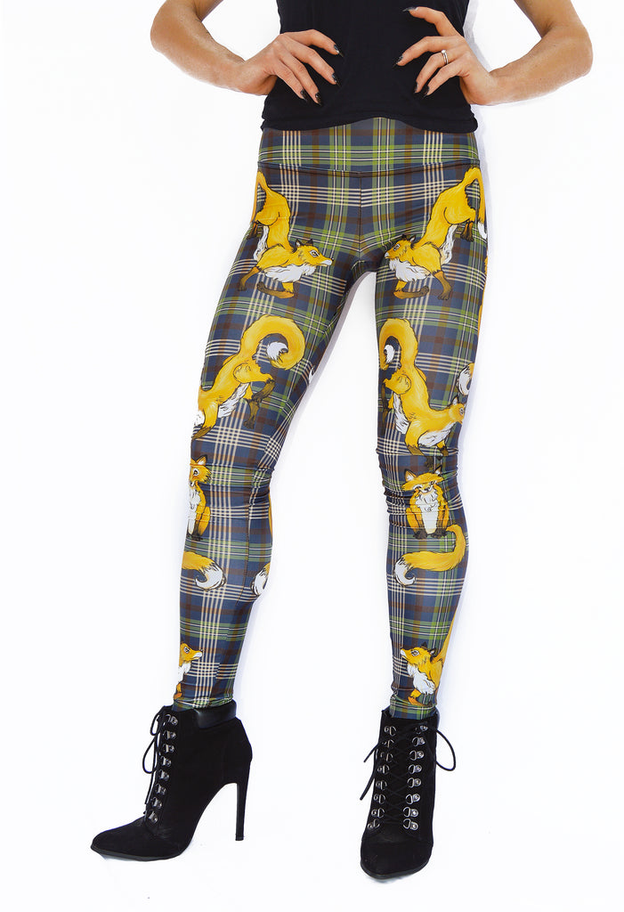 """FANTASTIC MRS. FOX"" leggings"