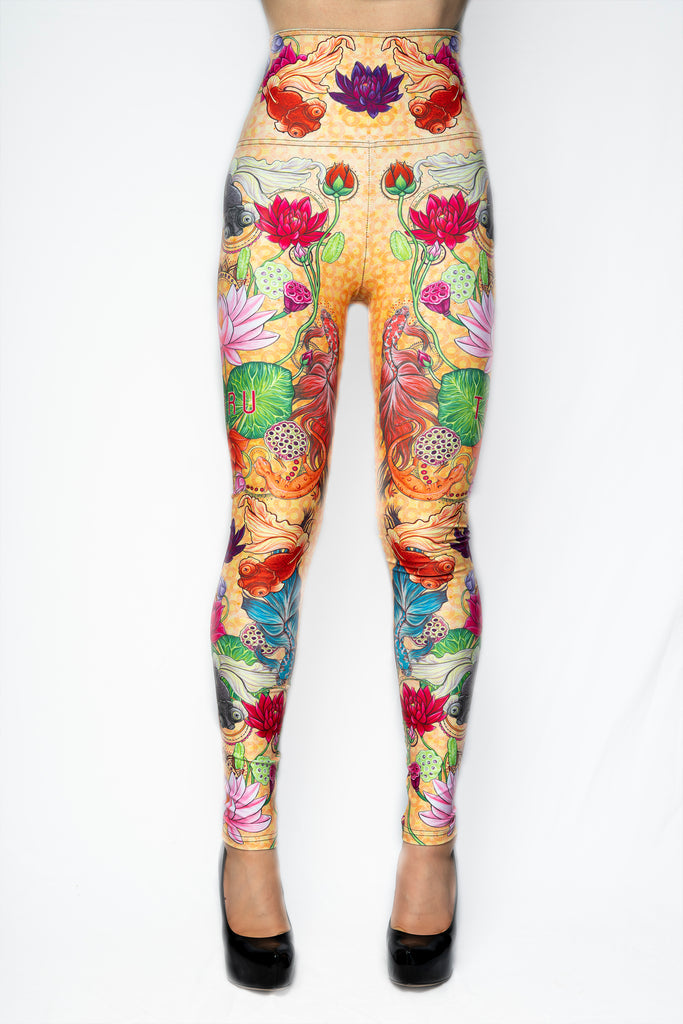 """MYSTIC WATERS"" leggings"