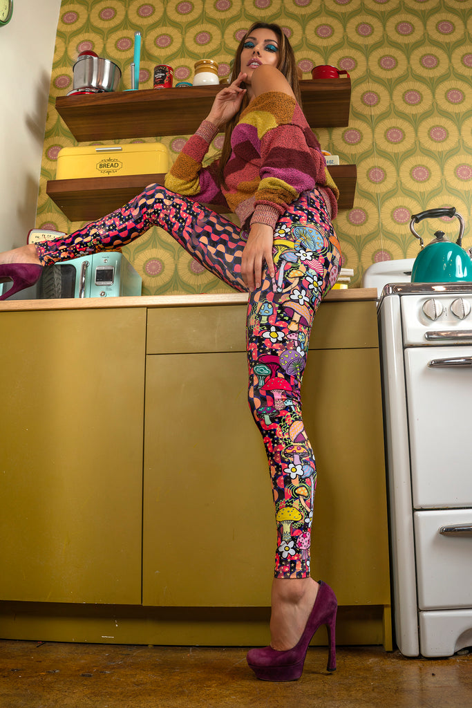 """TRIPPY"" leggings"