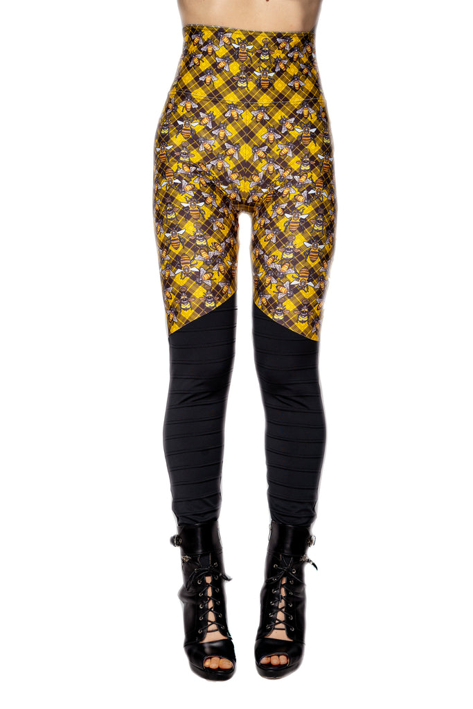 "Special Edition ""QUEEN BEE"" moto leggings"