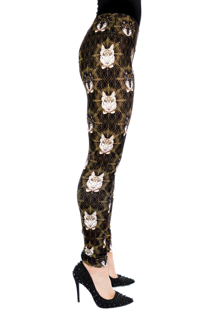 """NOBLE BEAST"" leggings"