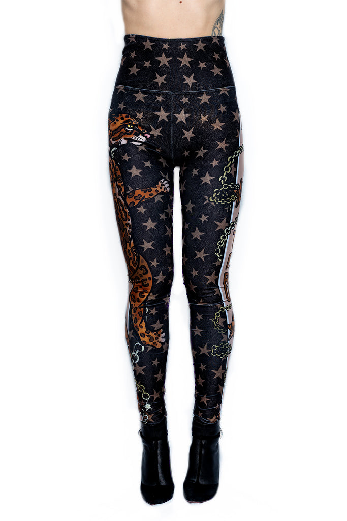 """SPOTS & STARS"" leggings"