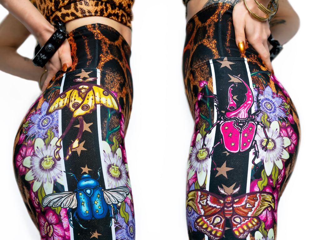 """TROPICALIA"" leggings - Help Save the Amazon!"