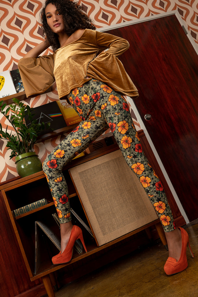 """POPPY"" leggings"