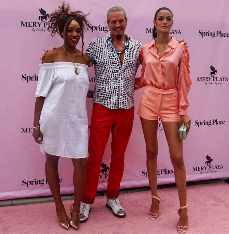 PlayHardLookDope Attends Mery Playa Swimwear Launch Event- Spring Studios