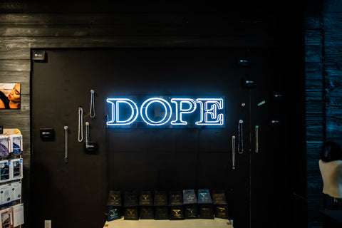 Dope wall.
