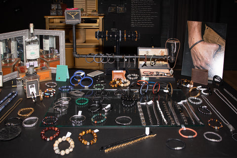 Men's Jewelry table.