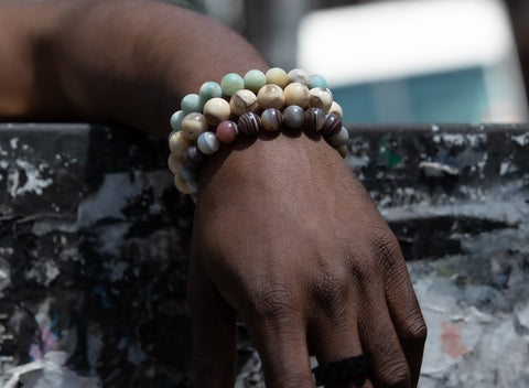"</""Arican-American-Male-Wearing-three-natural-stone-bracelets""/>"