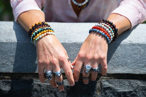 "</img src=""IMG_9914.JPG"" alt=""Male-model-wearing-natural-stone-bracelets-on-both-of-his-wrists""/>"