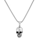 Stainless Steel Skull Necklace