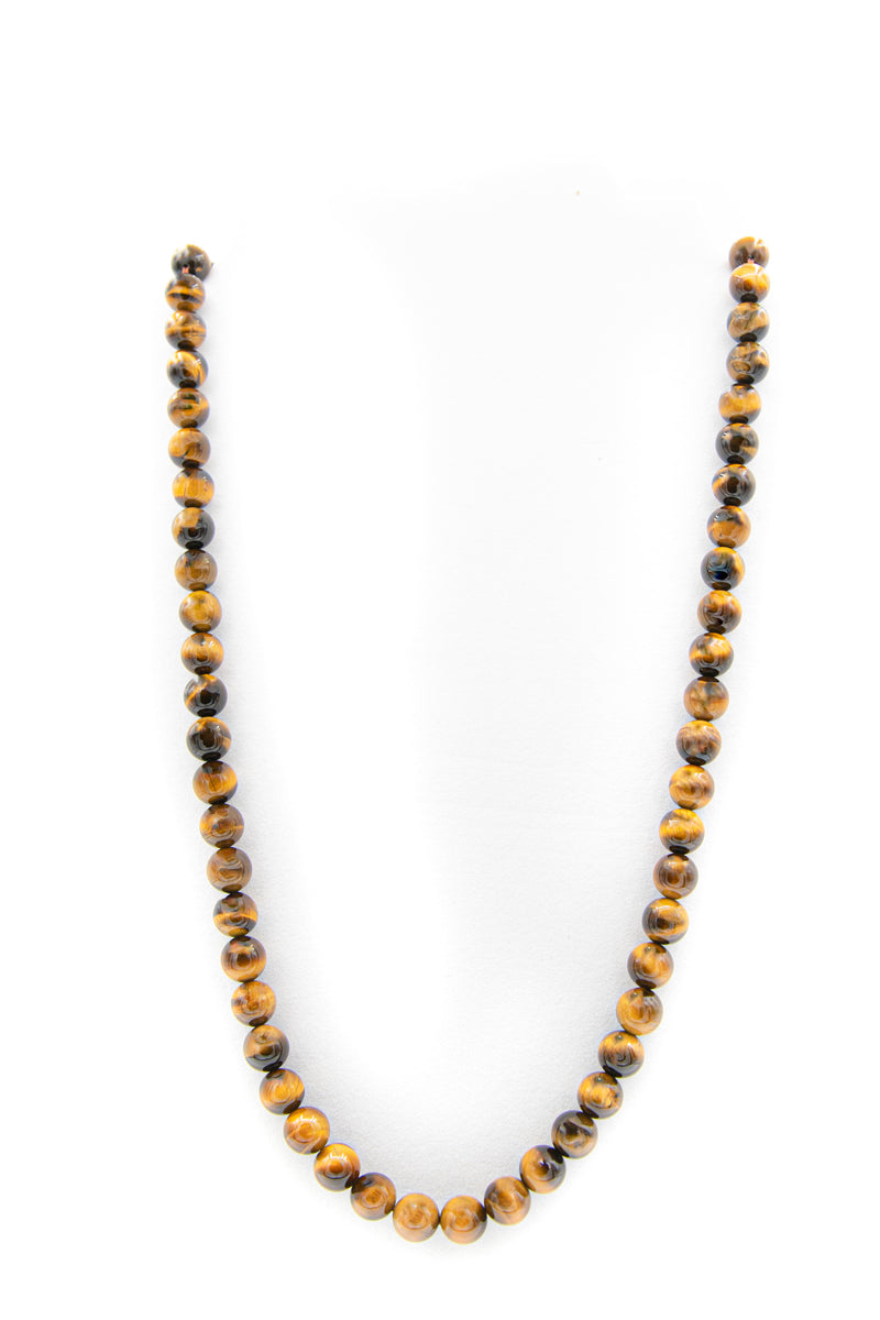 Tigers Eye Natural Gemstone Necklace