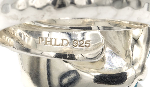 925 Sterling Silver ring stamp