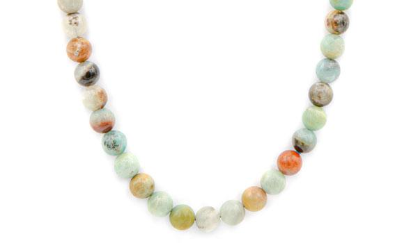amazonite natural stone necklace feature photo