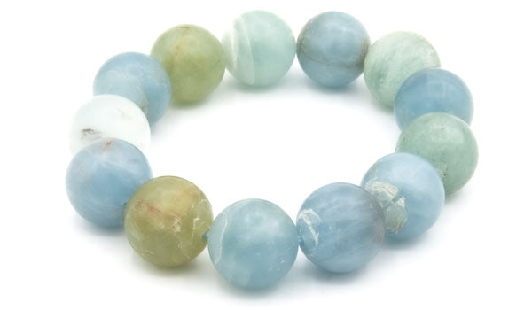 Luxury Aquamarine Natural Stone Bracelet feature img