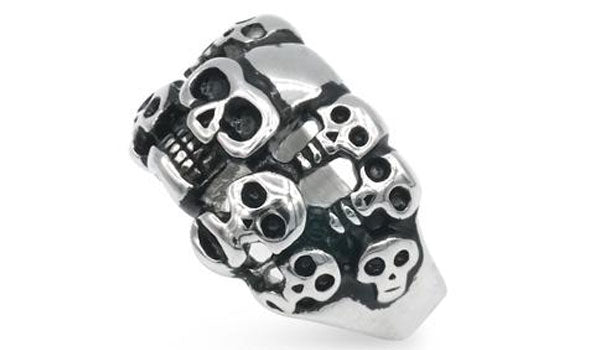Assorted skull head ring feature img