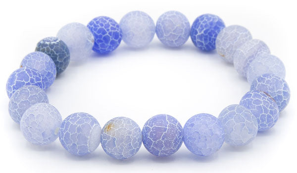 Blue dragon vein 10mm natural stone bracelet