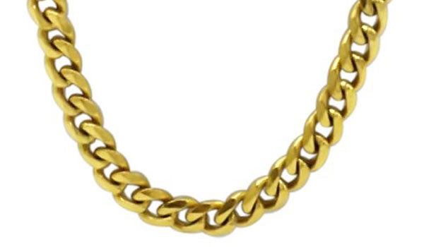 Gold curb chain feature img