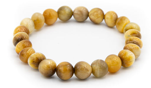 golden tigers eye 10mm natural stone bracelet