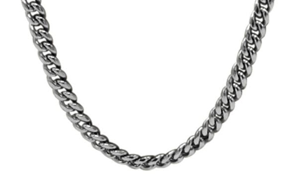 Silver Gourmette chain feature img