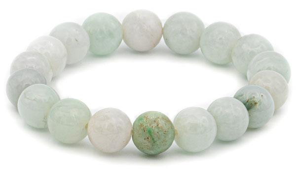 Burmese jade 10mm natural stone bracelet feature img