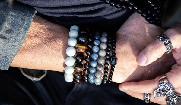 jade natural stone bracelet lifestyle photo