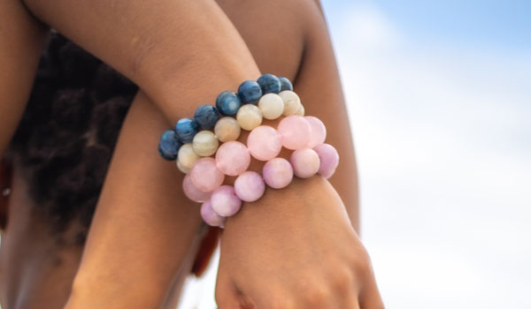 Rose Quartz Natural Stone Bracelet