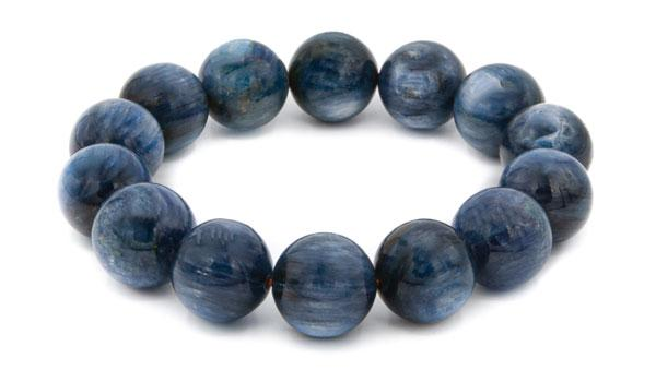 kyanite 14mm natural stone bracelet feature img