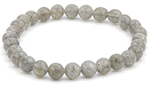 Labradorite 8mm natural stone bracelet