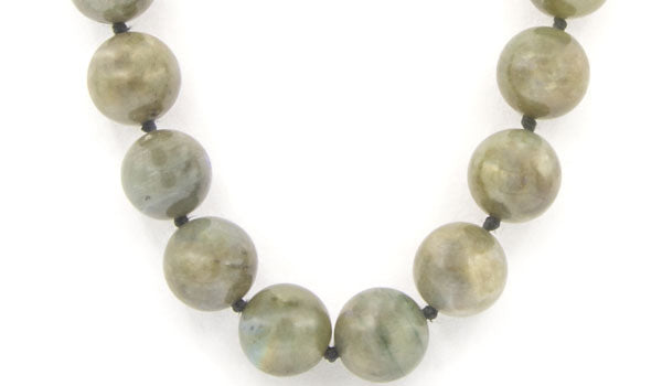 Luxury Labradorite Natural Gemstone Necklace