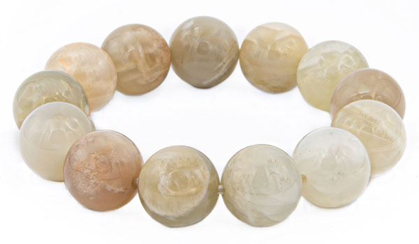 Luxury Moonstone Gloss Bracelet