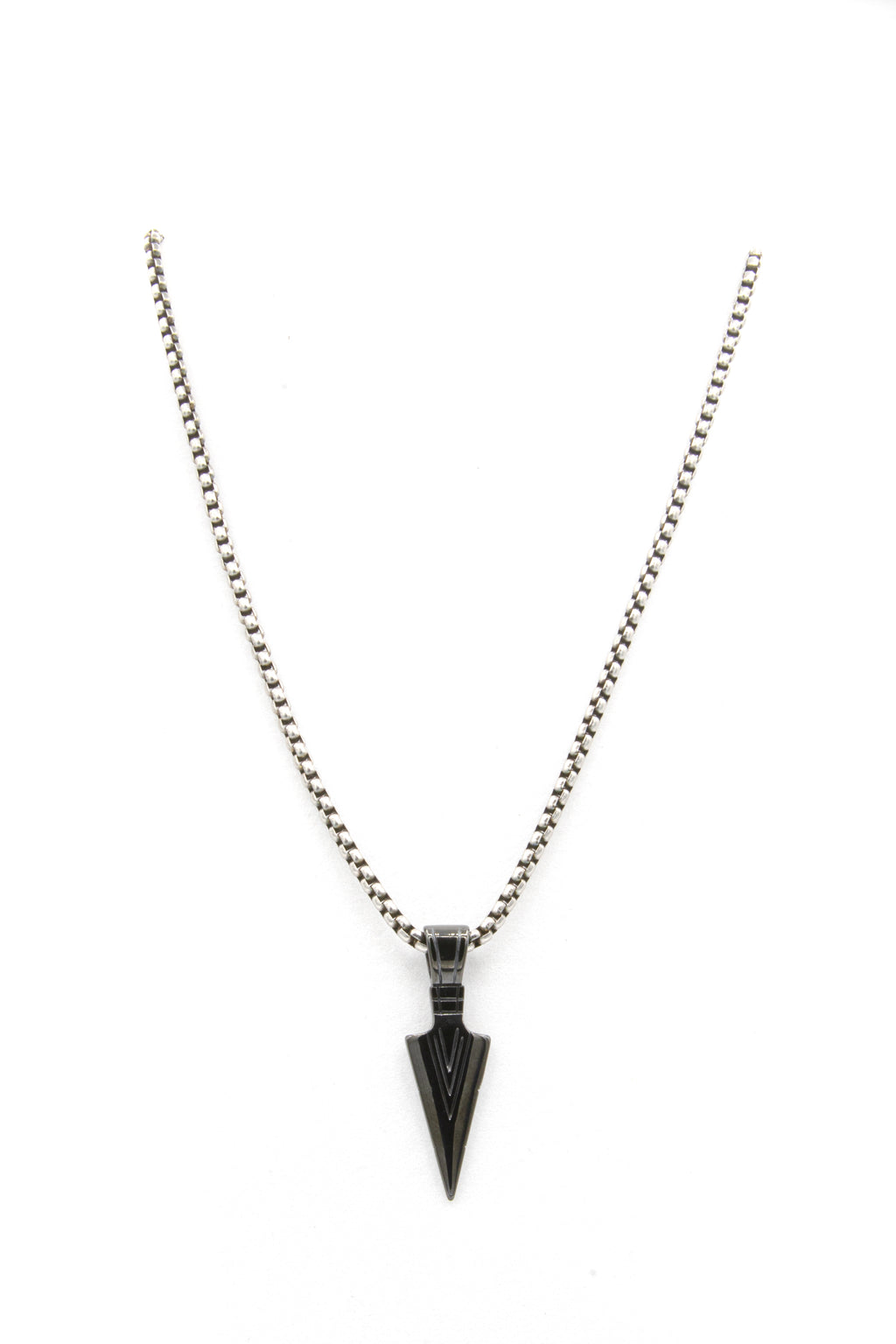 Black-Pirate-Pendant-Necklace