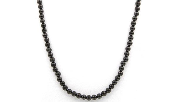 Shungite Natural stone necklace