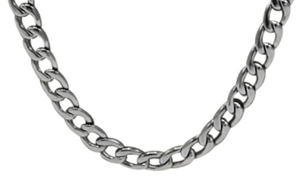 Silver curb chain feature img