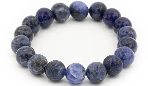Sodalite 10mm gloss natural stone bracelet