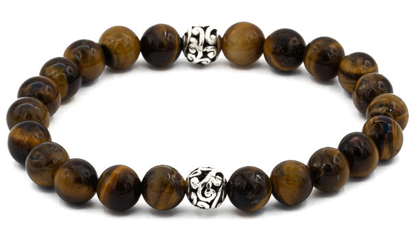 Tigers Eye Balinese Gemstone Bracelet.