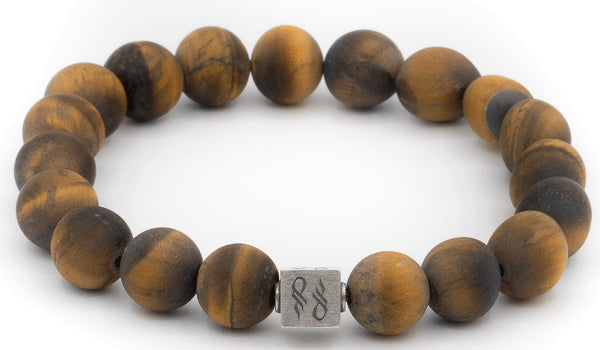 Tigers Eye Gemstone Centerpiece bracelet