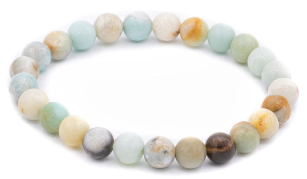 amazonite matte natural stone bracelet feature img
