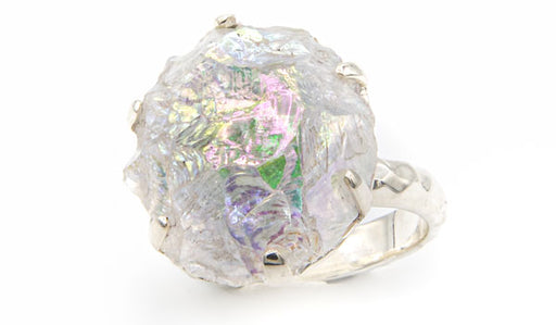 ANgel Aura Quartz Sterling Silver Ring second look