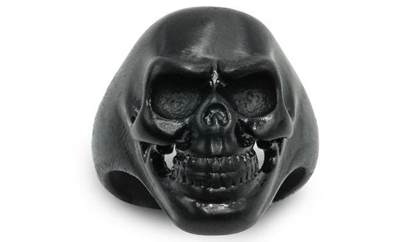 black skull ring second img