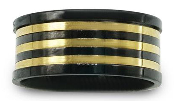 gold and black spinner ring second img