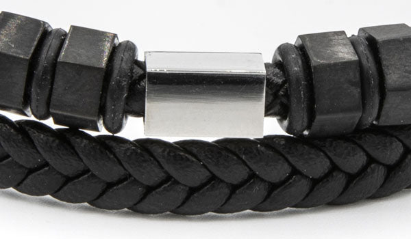 The Bolt Leather Bracelet