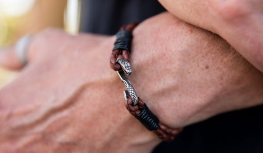 Brown Cobra Bracelet