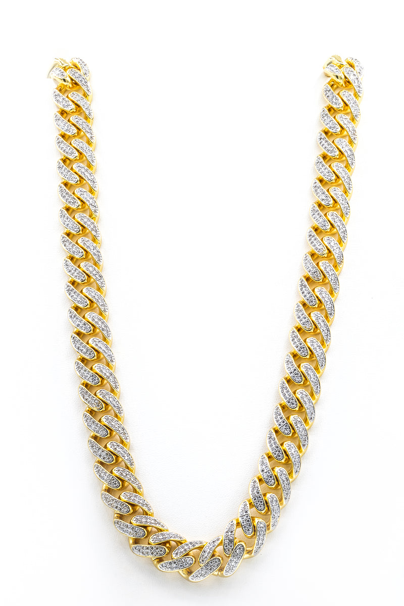 "Curb Link 24"" Chain Necklace in Stainless Steel"