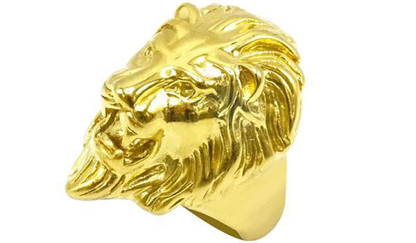 Gold lion ring feature img