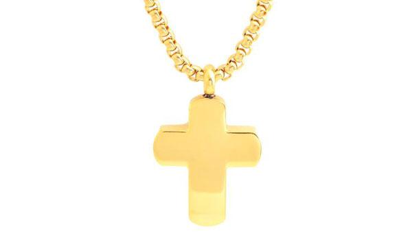 gold cross necklace feature img