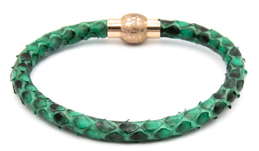 Green python bracelet feature img