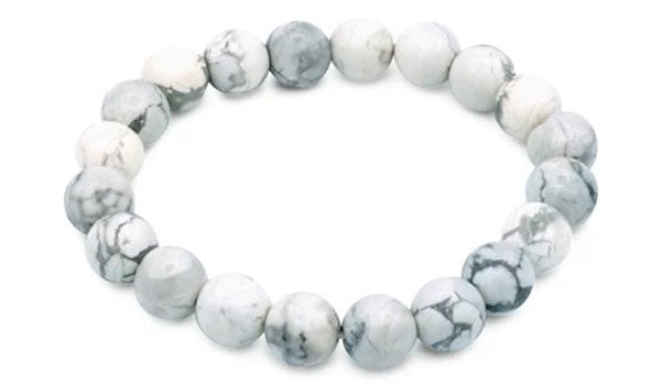 Howlite 10mm natural stone bracelet feature img