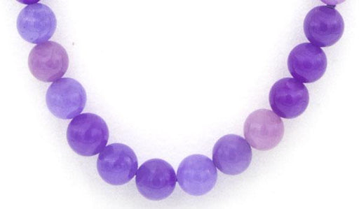 Lavender Jade Natural Stone Necklace feature img