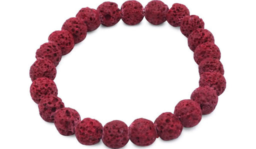 red lava natural stone bracelet feature img