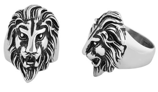 silver lion ring feature img